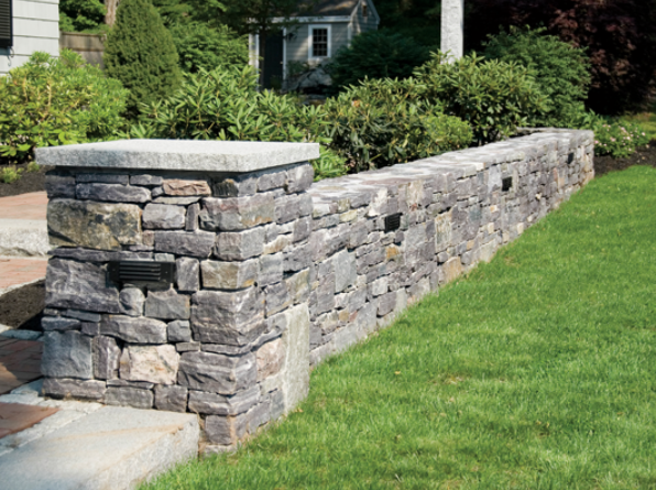 Consider Using Decorative Stone for Landscaping before Showing a Rental Property