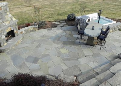Irregular PA Patio